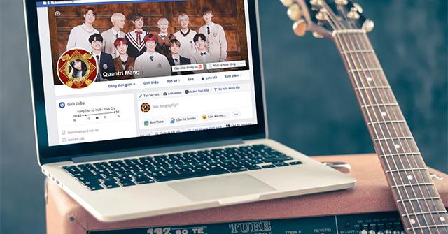 Cách tạo trình phát nhạc trong tiểu sử Facebook