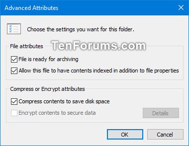 Vô hiệu hóa mã hóa file NTFS