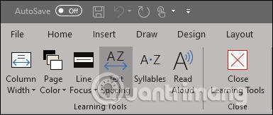 Cách sử dụng công cụ Learning trong Microsoft Word - Ảnh minh hoạ 2