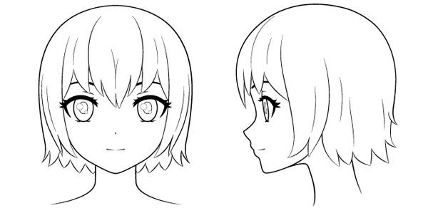 Thêm các chi tiết tạo đặc điểm cho khuôn mặt