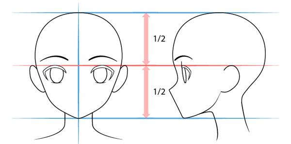 Vẽ mắt nhân vật anime nữ