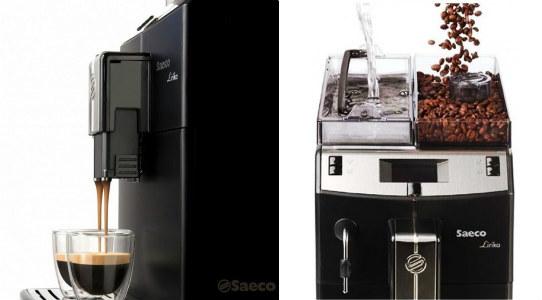 Máy pha cà phê Espresso tự động có thể xay cà phê tiện lợi.