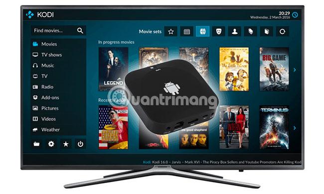 Nội dung khác có sẵn trên Android TV Box không?