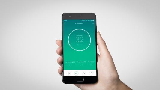 Máy lọc không khí Xiaomi Mi Air Purifier 2S có khả năng kết nối Wifi và điều khiển bằng ứng dụng di động thông minh.