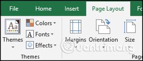 Cách sử dụng theme trong Excel