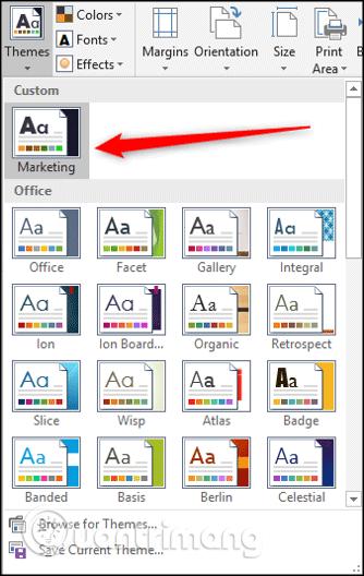 Cách sử dụng theme trong Excel - Ảnh minh hoạ 15