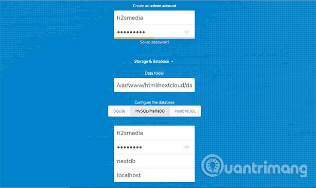 Thiết lập và cấu hình NextCloud server trên Windows 10