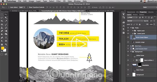 Mẹo và các công cụ thiết kế của Adobe