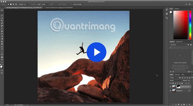 Hướng dẫn chỉnh sửa background trong Photoshop của Adobe