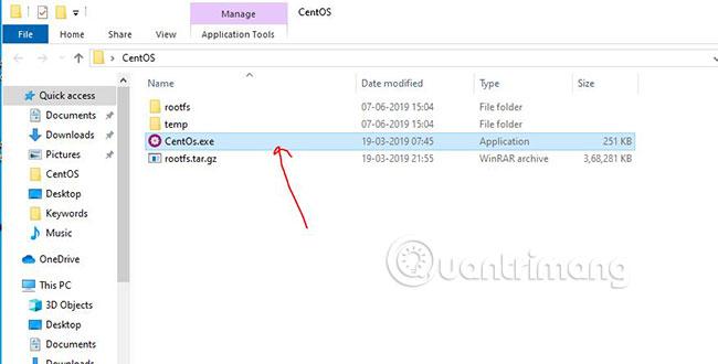 Chạy CentOS 7 trên WSL