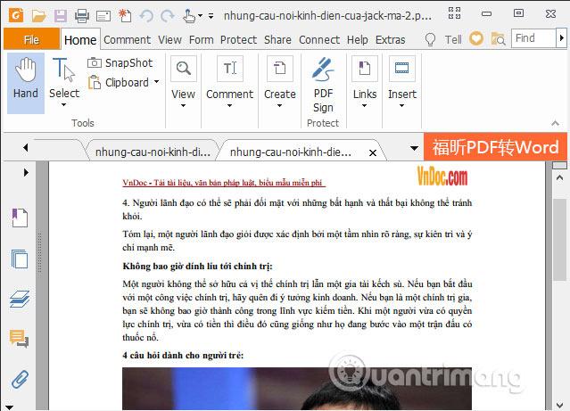 Cắt thêm trang PDF khác