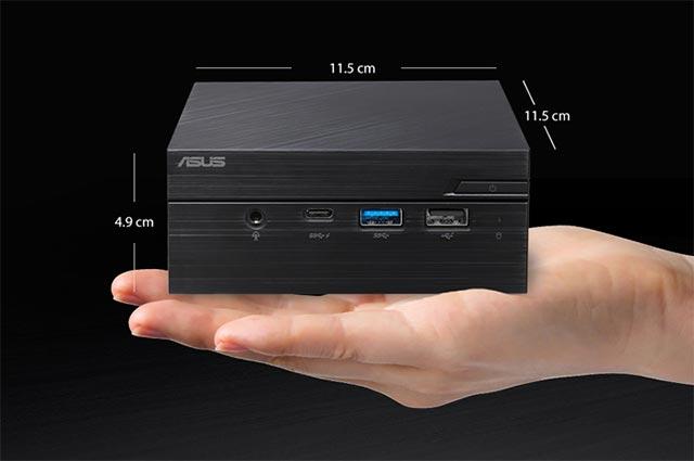 ASUS PN60 nhỏ gọn trong lòng bàn tay