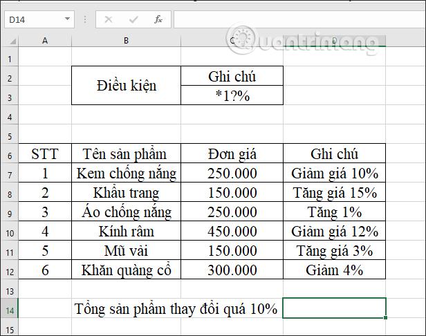 Hàm DCOUNTA, cách dùng hàm đếm ô không trống trong Excel - Ảnh minh hoạ 10