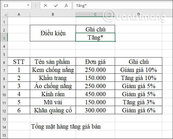 Hàm DCOUNTA, cách dùng hàm đếm ô không trống trong Excel - Ảnh minh hoạ 4