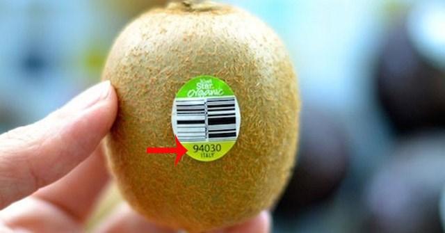 Ý nghĩa mã số trên hoa quả nhập khẩu