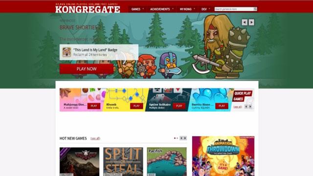 Trang web Kongregate