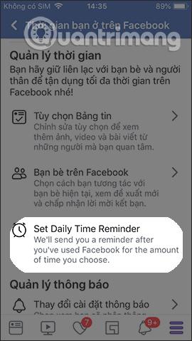Cách tạo giới hạn thời gian dùng Facebook - Ảnh minh hoạ 5