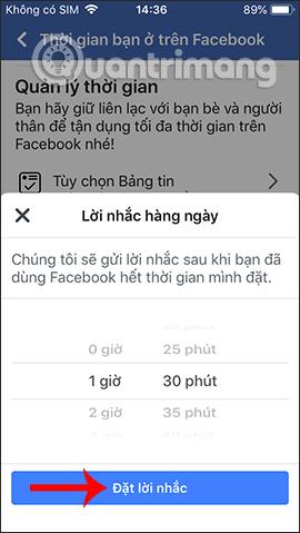 Cách tạo giới hạn thời gian dùng Facebook - Ảnh minh hoạ 7