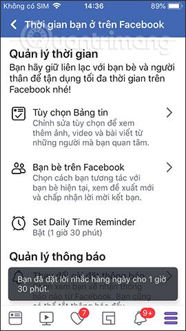 Cách tạo giới hạn thời gian dùng Facebook - Ảnh minh hoạ 8