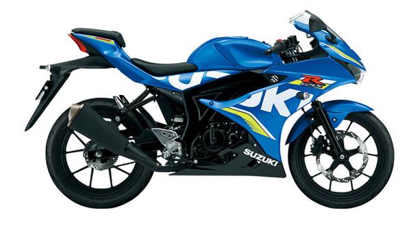 Suzuki GSX-R150 màu xanh đen