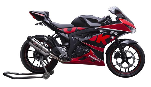 Suzuki GSX-R150 màu đỏ đen