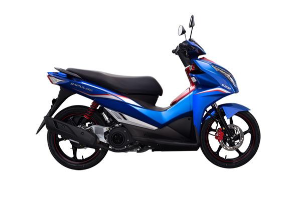 Suzuki Impulse xanh đỏ