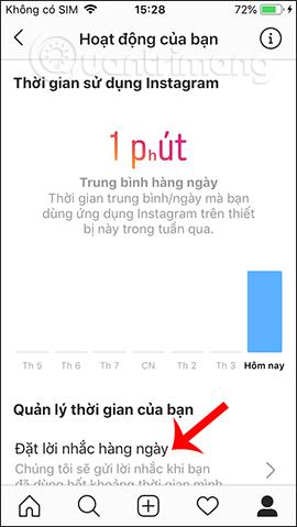 Cách tạo giới hạn thời gian dùng Instagram - Ảnh minh hoạ 6