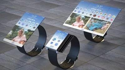 Mô phỏng mẫu smartwatch có thể biến thành smartphone và tablet của IBM
