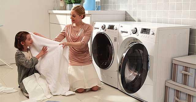 Máy giặt có sấy