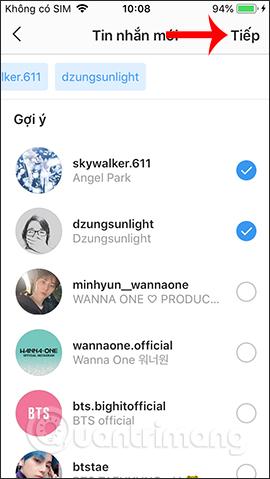 Hướng dẫn chat nhóm trên Instagram - Ảnh minh hoạ 31
