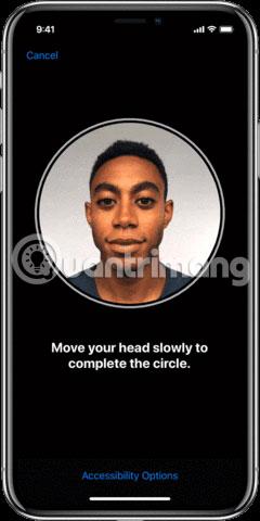 Thiết lập Face ID