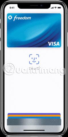Dùng Face ID để mua hàng