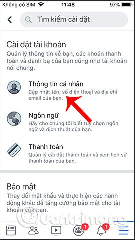 Hướng dẫn xóa số điện thoại Facebook - Ảnh minh hoạ 4