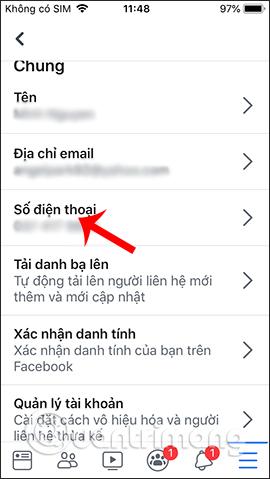 Hướng dẫn xóa số điện thoại Facebook - Ảnh minh hoạ 5