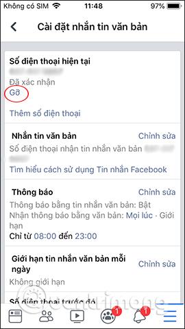 Hướng dẫn xóa số điện thoại Facebook - Ảnh minh hoạ 6