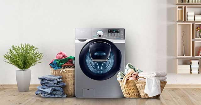 Cách mở máy giặt khi đang chạy