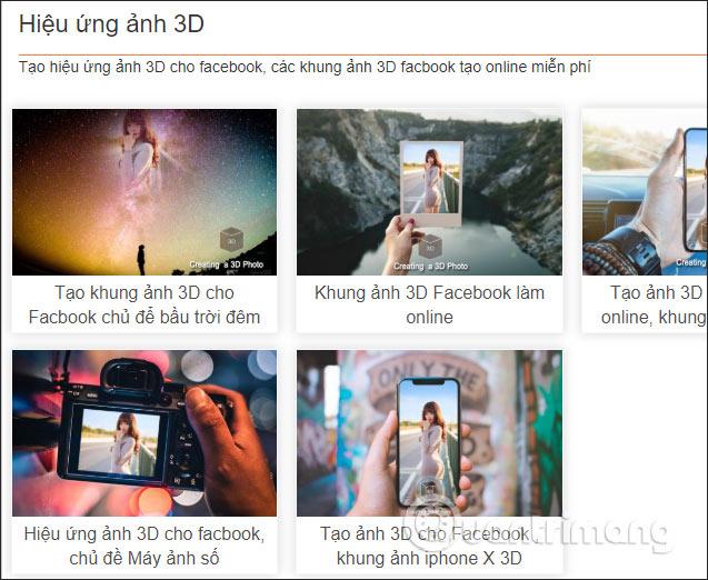 Cách đăng ảnh ghép 3D lên Facebook - Ảnh minh hoạ 2