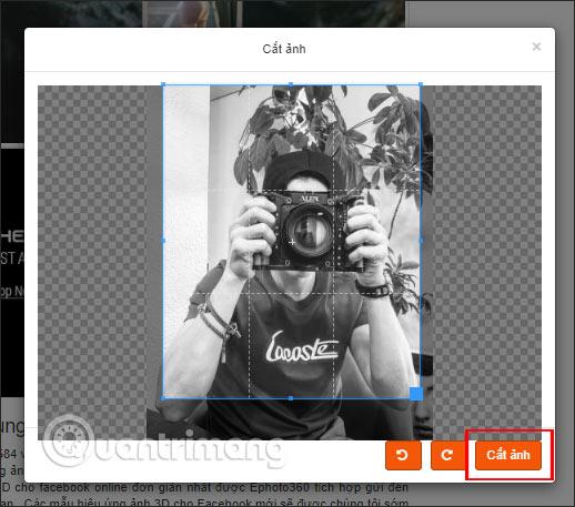 Cách đăng ảnh ghép 3D lên Facebook - Ảnh minh hoạ 5