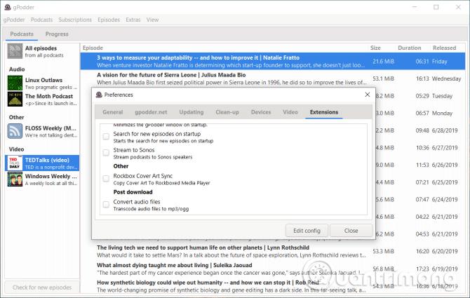 6 phần mềm quản lý podcast tốt nhất cho Windows