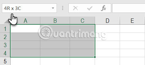 Cách sử dụng Name Box trong Excel - Ảnh minh hoạ 7