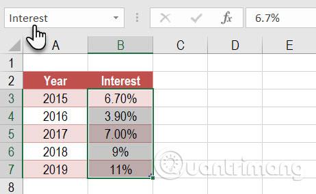 Cách sử dụng Name Box trong Excel - Ảnh minh hoạ 8