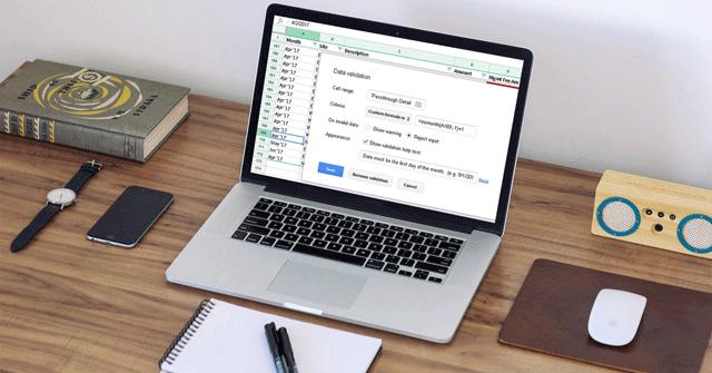 Cách giới hạn dữ liệu với Data Validation trong Google Sheets