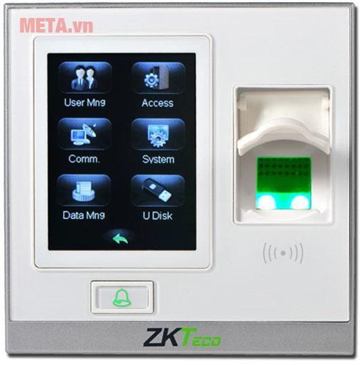 Máy chấm công bằng vân tay ZKTeco SF400-ID