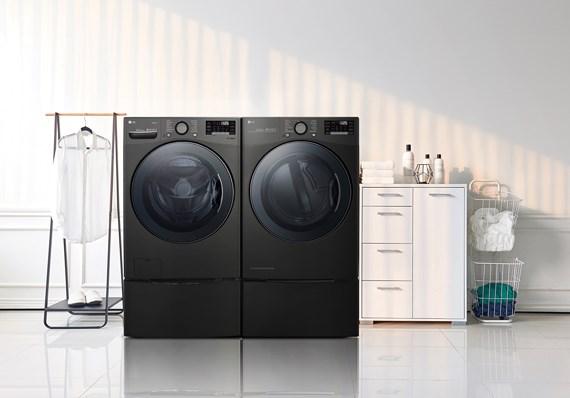 máy giặt sấy LG
