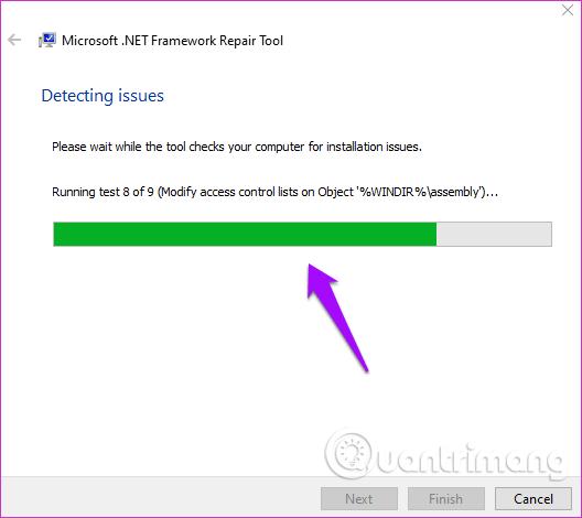 Chạy công cụ sửa chữa .NET Framework
