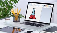 Cách vẽ ảnh Pixel Art bằng Paint