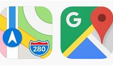 So sánh Apple Maps và Google Maps