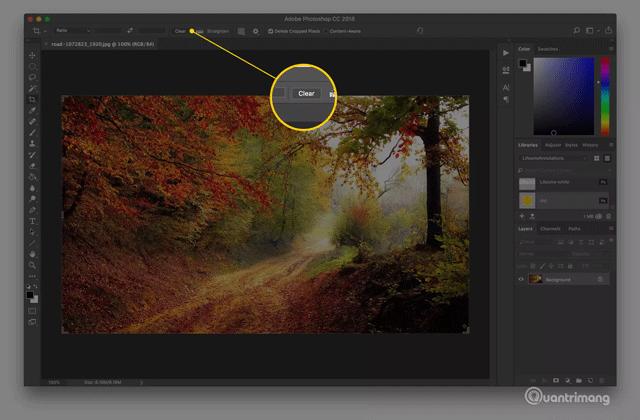 Scratch disk error when cutting image
