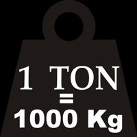 1 tấn bằng bao nhiêu tạ, yến, kg