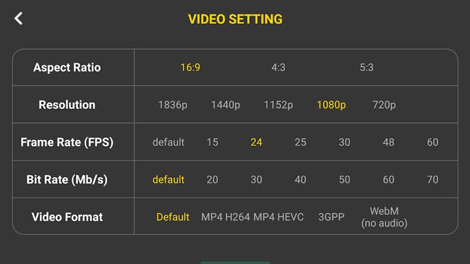 4K Camera Filmmaker Pro 1